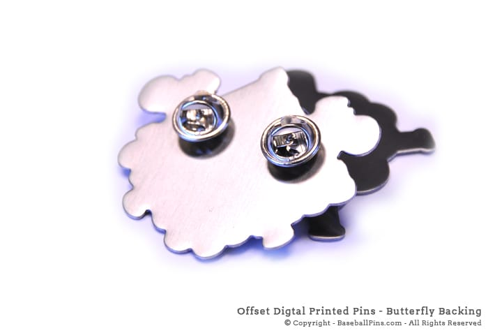 Quality Offset Digital Trading pins