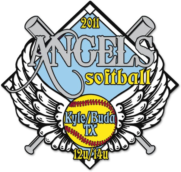 Quality Softball Trading pins