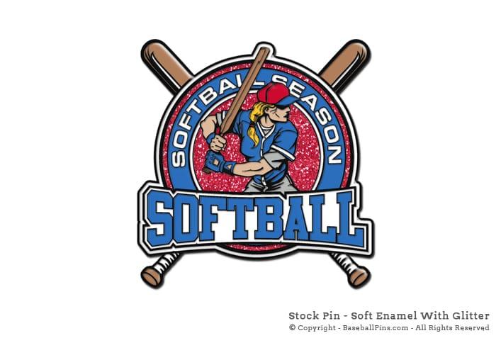 Quality Stock Baseball Trading Pins