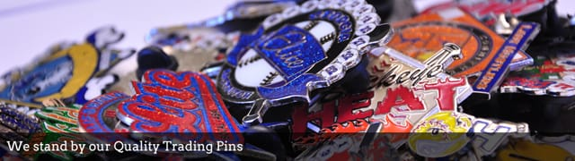 Quality Trading pins